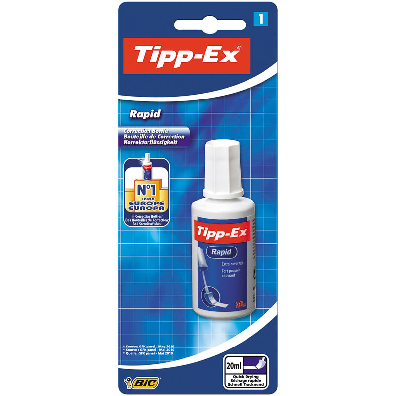 B Amp M Tipp Ex Rapid Bottle 20ml 300915 B Amp M