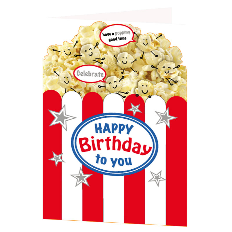 Popping Good Time Birthday Card Greeting Cards
