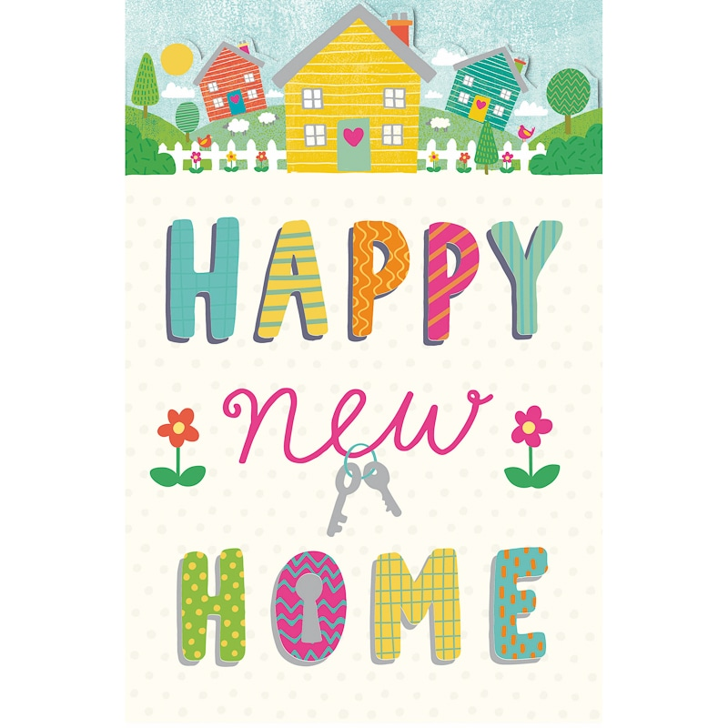 Happy New Home Greetings Card Birthday Amp Greetings