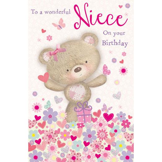 To A Wonderful Niece - Birthday Cards