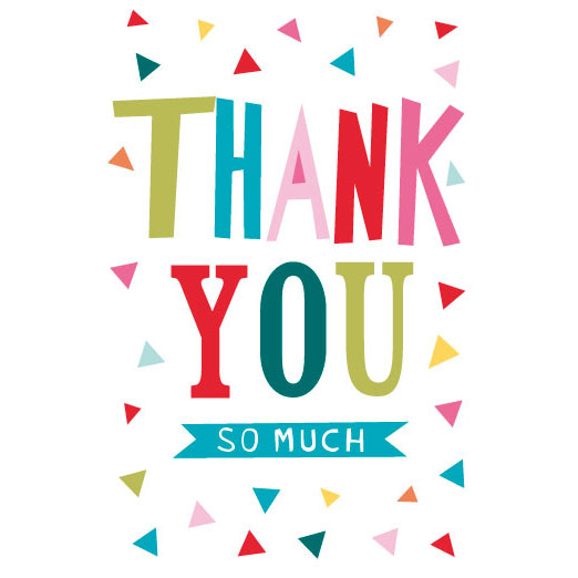 thank you greetings card greeting cards b m stores