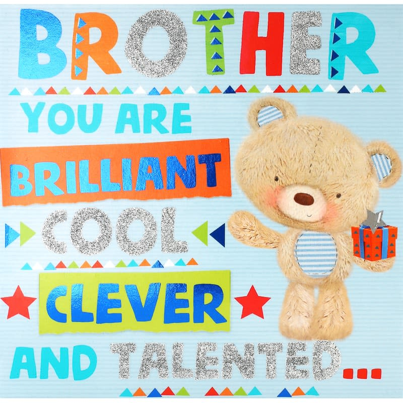Cool Brother - Birthday Card
