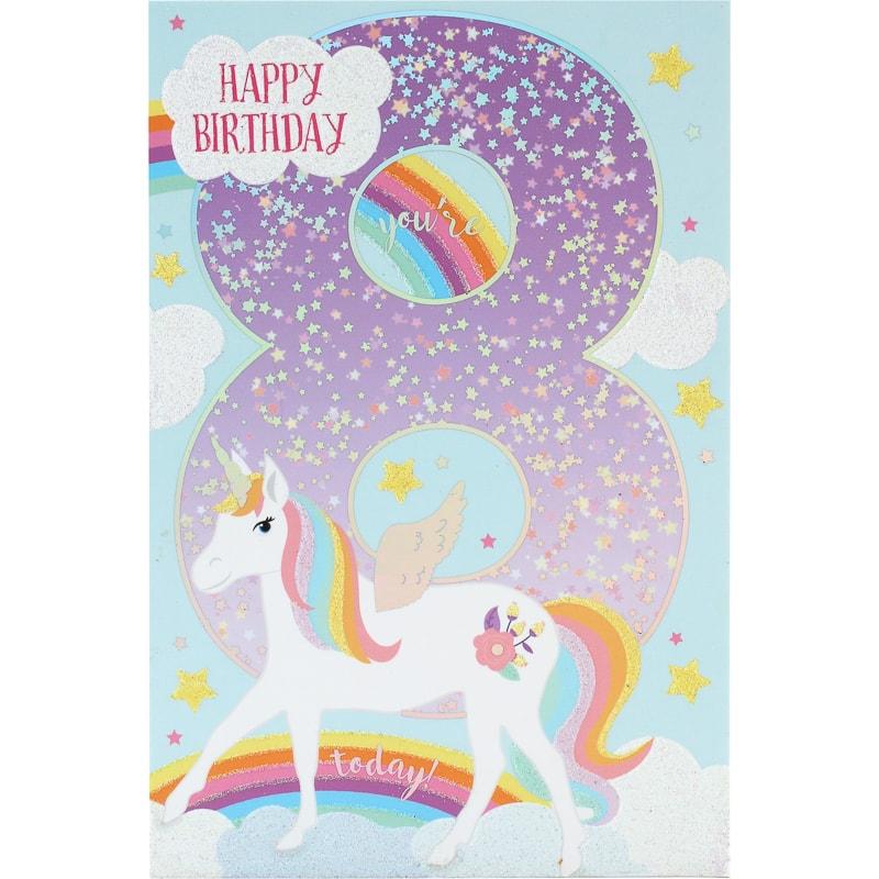 301168 Happy Birthday Card 8 Today