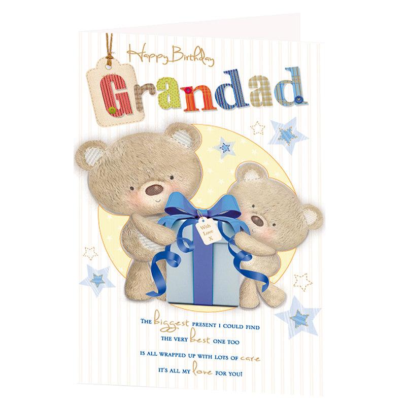 Grandad birthday card greeting cards 301168 greetings card ybrmkc003 bookmarktalkfo Gallery