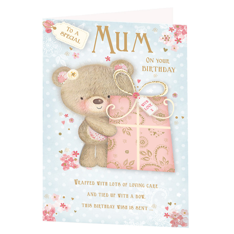 Special Mum Birthday Card Greeting Cards – Birthday Cards for Mum