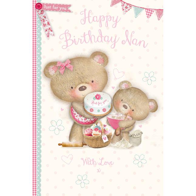 301168 Nan Bday Millie Bear