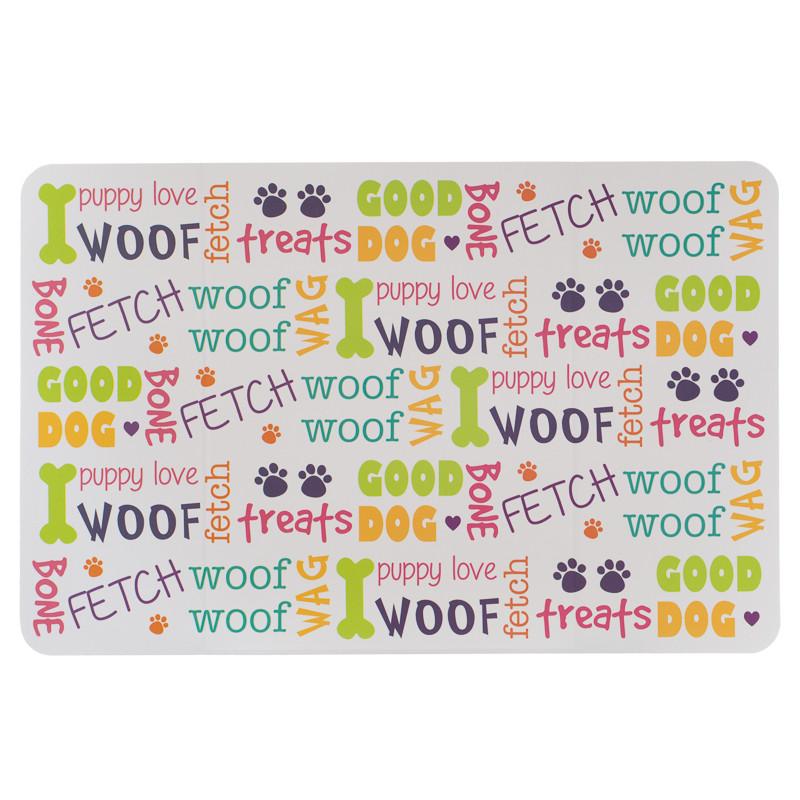 Pet Placemat Dog Slogans
