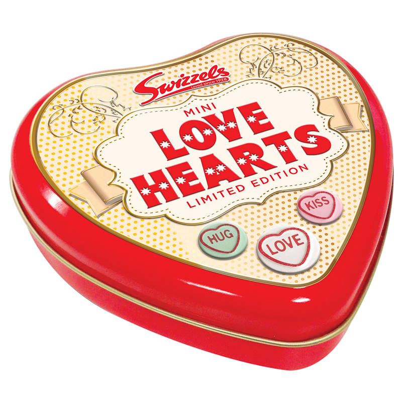 B Amp M Gt Mini Love Hearts Limited Edition Tin 301211