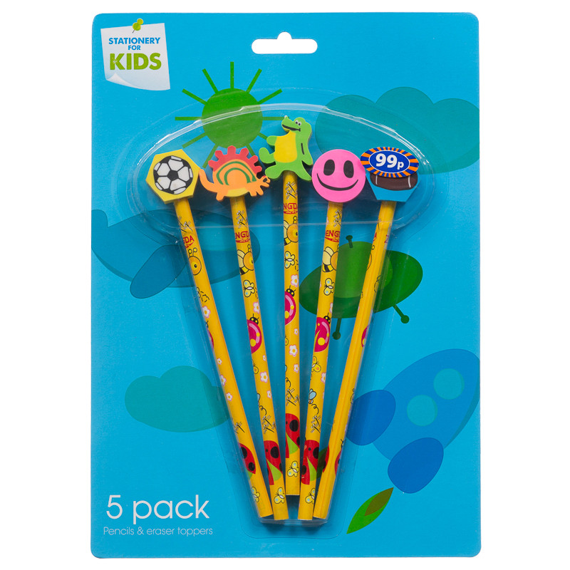 Pencil Amp Eraser Toppers Pencil Toppers Back To School