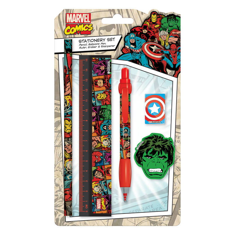 Marvel Baby Gifts Uk : Marvel stationery set kids back to school