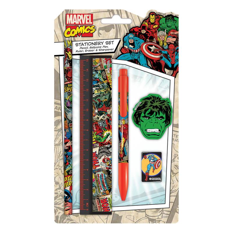 Marvel Baby Gifts Uk : B m marvel stationery set kids back to school