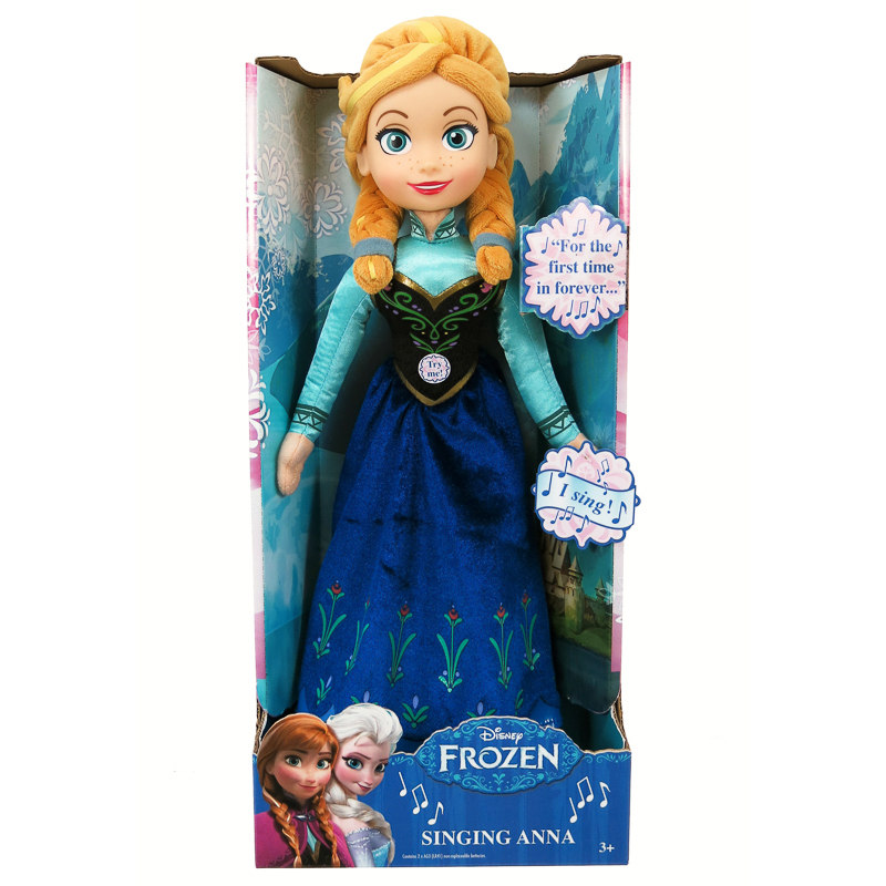 Disney Frozen Singing Anna Doll Frozen Dolls Amp Toys
