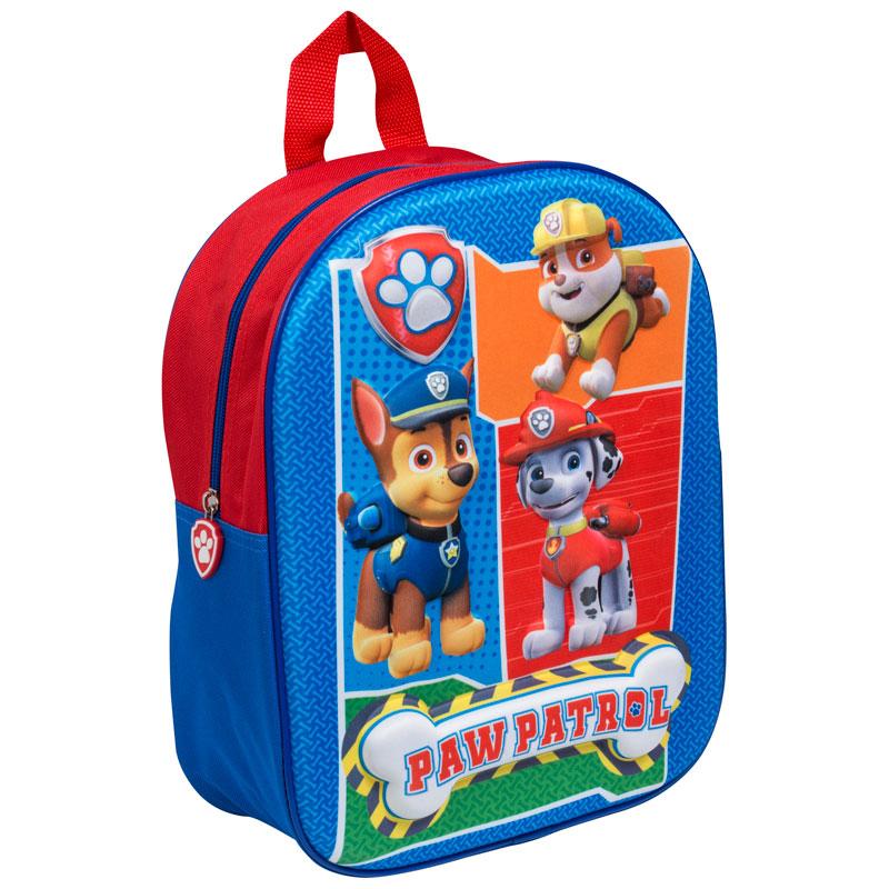 3d school backpack paw patrol back to school school bag. Black Bedroom Furniture Sets. Home Design Ideas