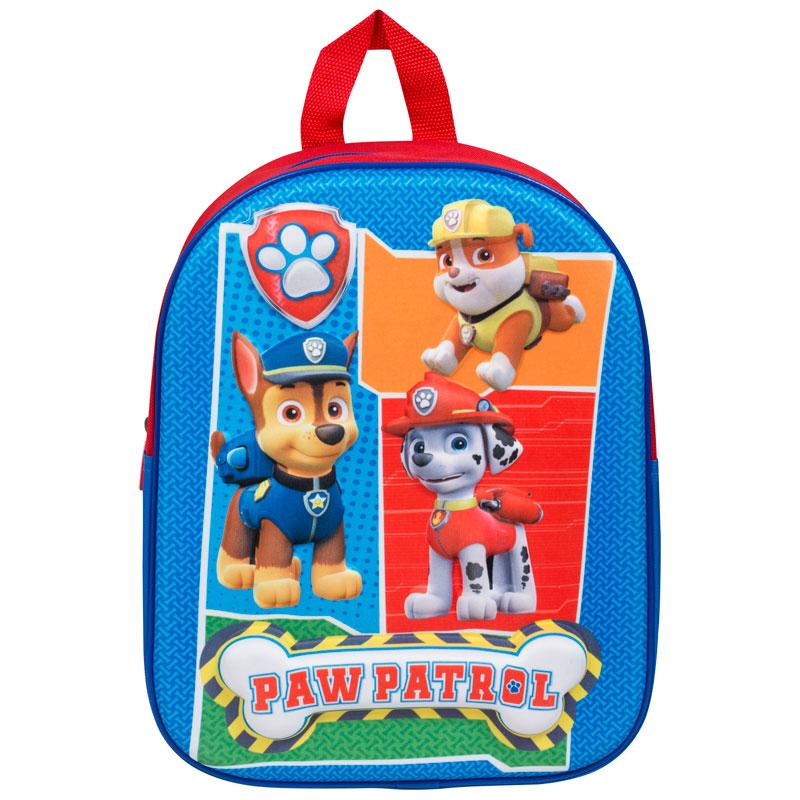 3D School Backpack - Paw Patrol