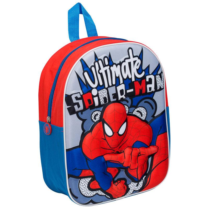 3d School Backpack Spider Man Back To School School Bag