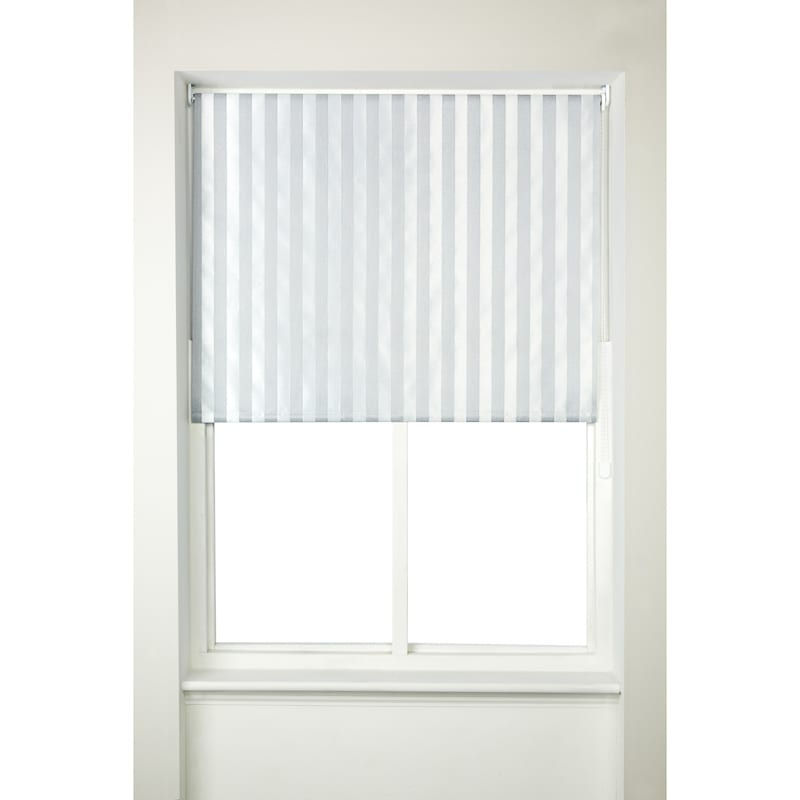 Striped Roller Blind 90cm Home Blinds B Amp M