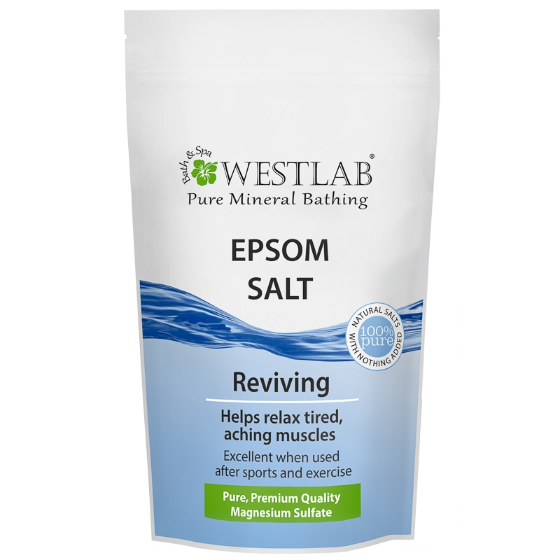 Westlab Epsom Bath Salt 1kg Soap Shower Bath B M