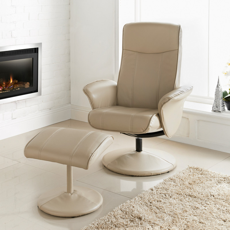 B Amp M Malta Recliner Latte Chairs Furniture Cheap