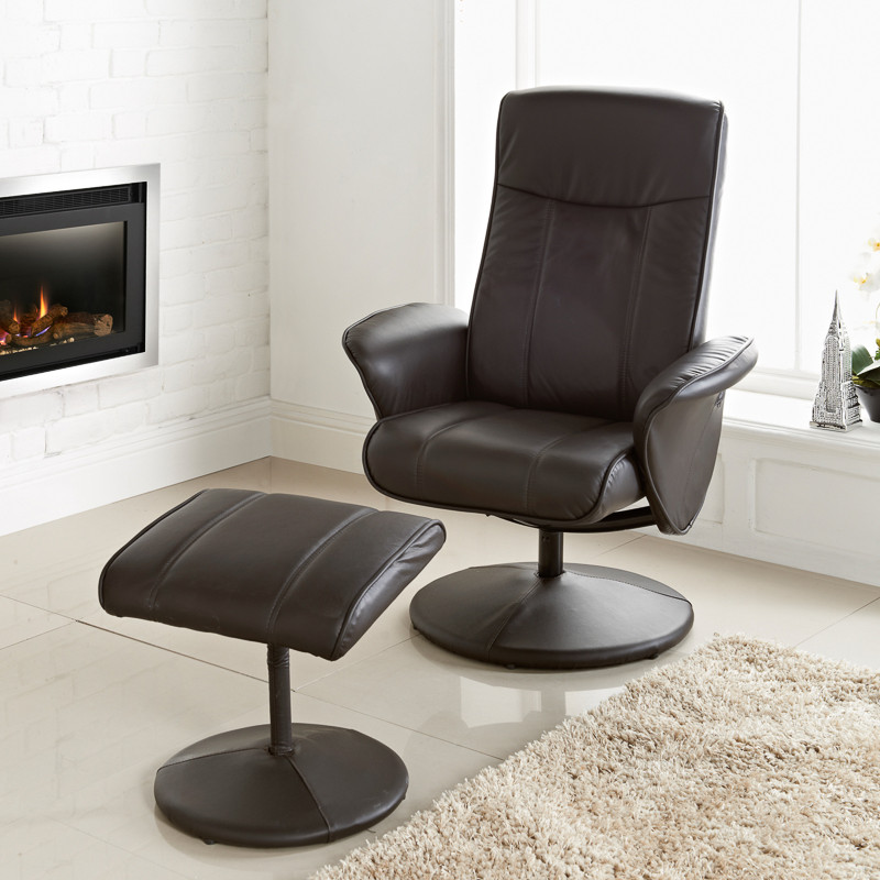 B Amp M Malta Recliner Brown Chairs Furniture Cheap