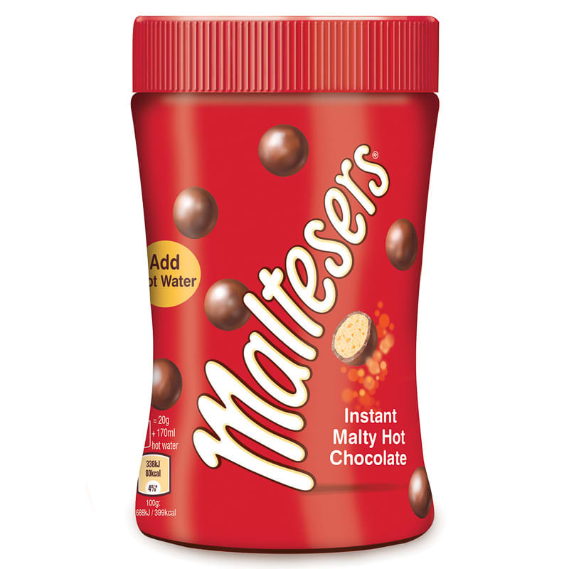 Maltesers Instant Hot Chocolate Jar 180g Hot Drinks Hot