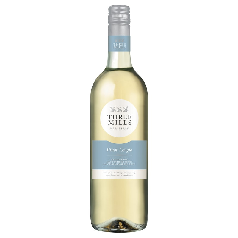 Three Mills Pinot Grigio White 75cl