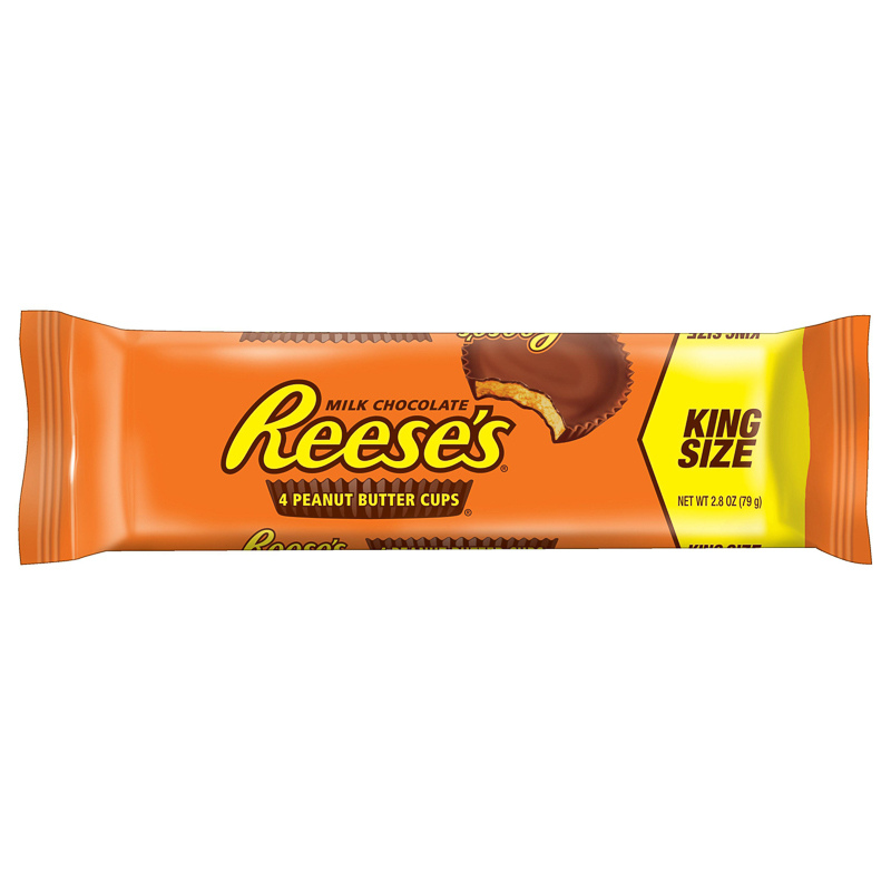 Reese S Peanut Butter Cups King Size 4pk American Chocolate