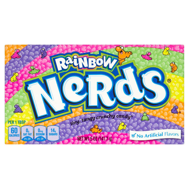 Wonka Rainbow Nerds 141g American Candy Amp Sweets