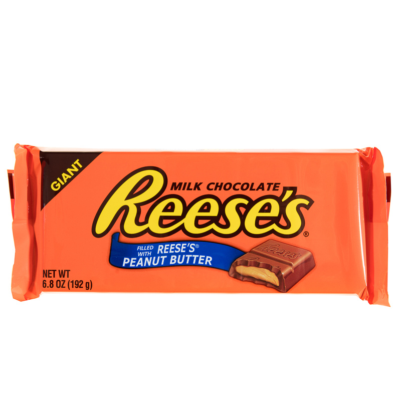 Reese S Milk Chocolate With Peanut Butter 192g American