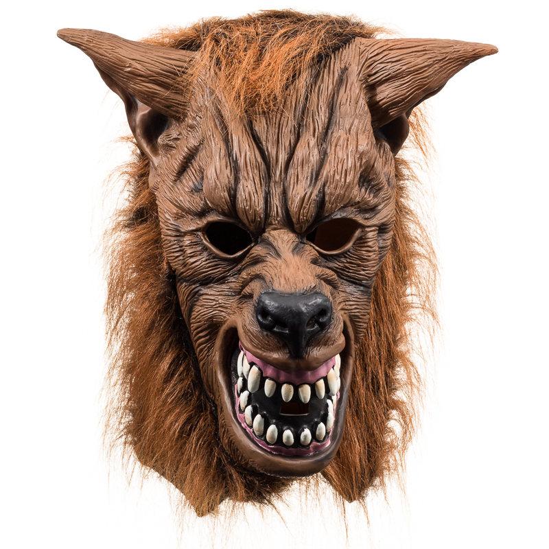 Werewolf mask halloween