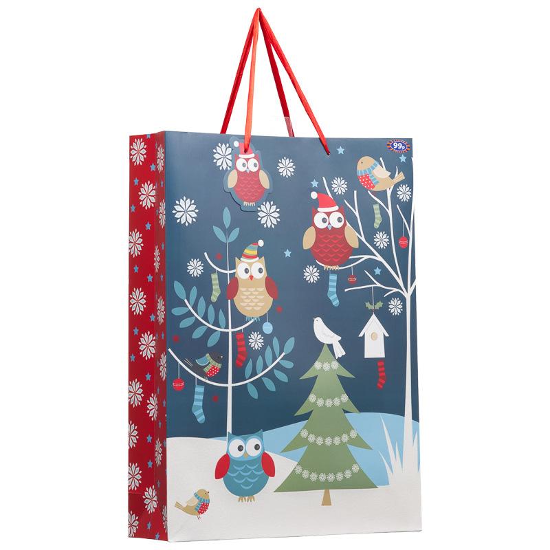 B&M: XL Woodland Gift Bag