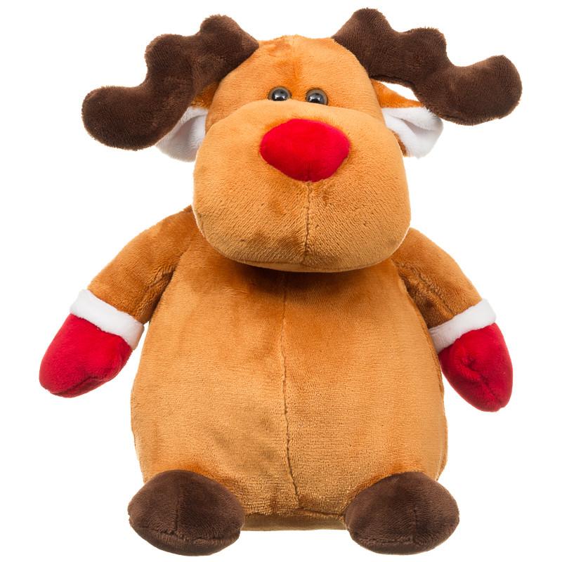 Christmas Plush Toys : B m reindeer plush toy christmas stuffed cuddly toys