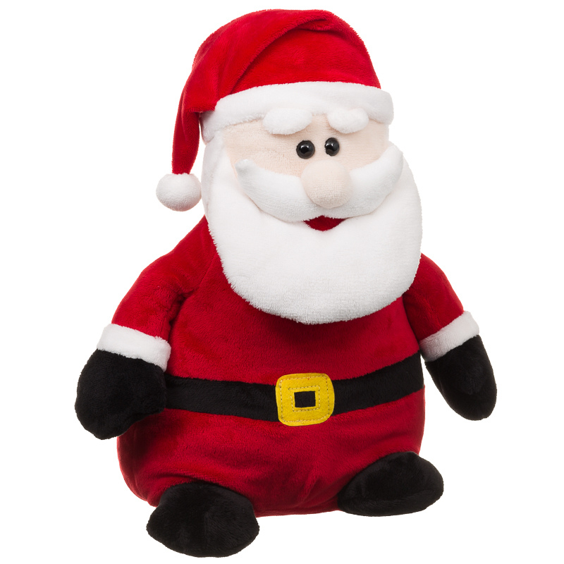 Toys From Santa : B m santa claus plush toy christmas stuffed cuddly toys