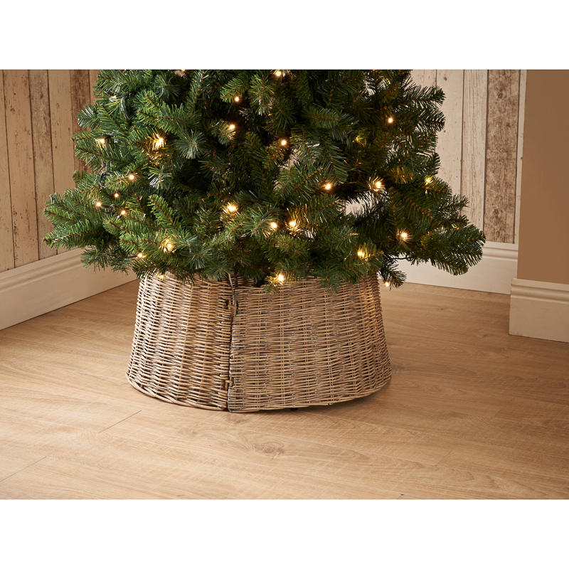 wicker christmas tree skirt dunelm
