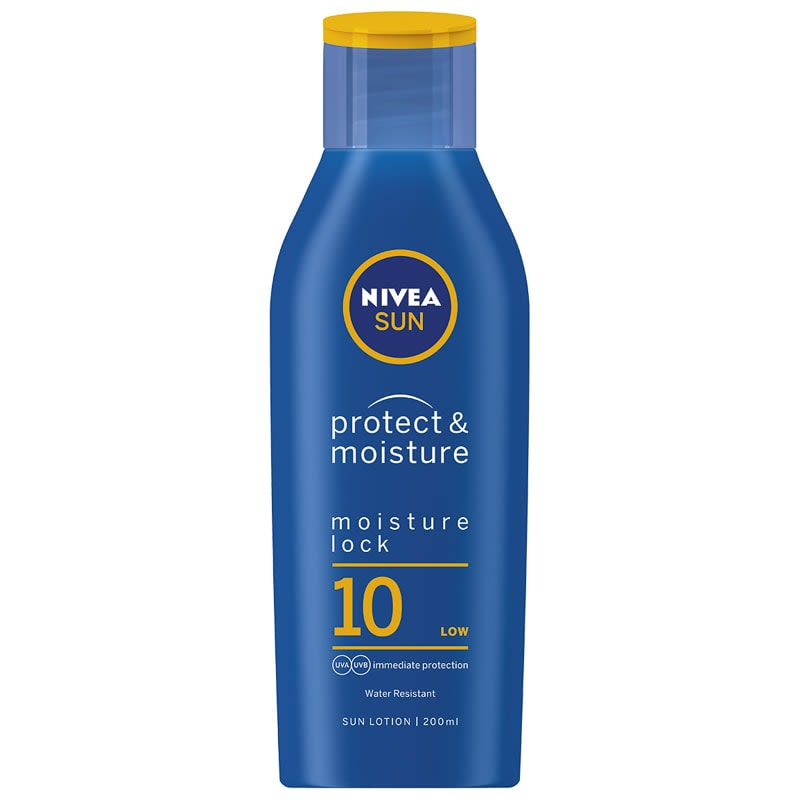 Nivea Sun Protect & Moisture Sun Cream Factor 10 200ml