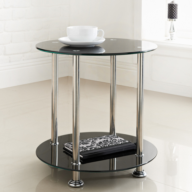 Small Coffee Tables B M: NY Signature Round Side Table
