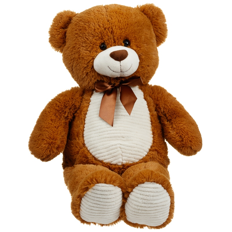 my giant teddy bear 80cm soft toys plush animals b m