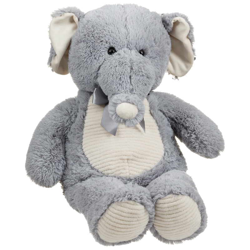 My Giant Elephant Soft Toys Plush Animals B Amp M