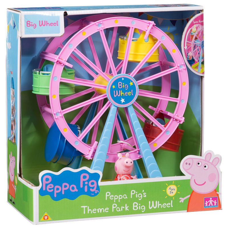 Peppa Pig Theme Park Big Wheel Animal Toys Amp Play Sets