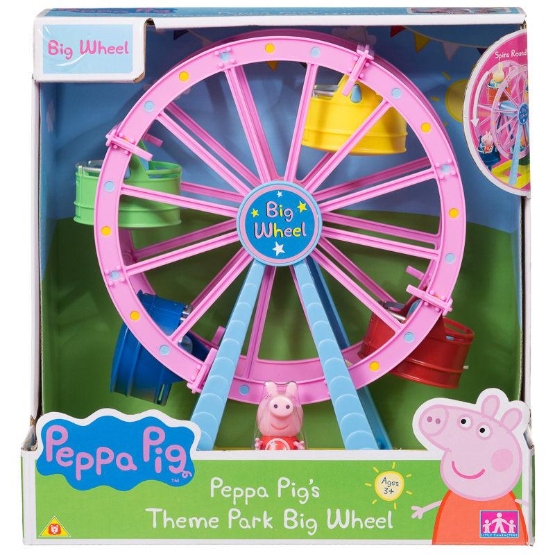 Peppa Pig Theme Park Big Wheel Animal Toys Amp Play Sets