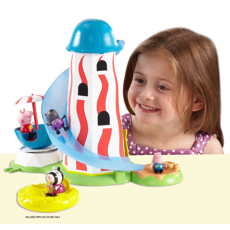 Peppa Pig Theme Park Helter Skelter Animal Toys Amp Play Sets