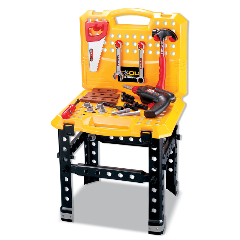 Kids Toy Tool Bench 53pc Diy Toys Role Play