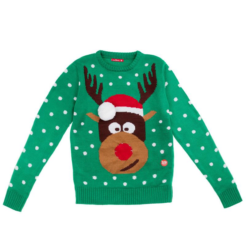 B&M: Mens Christmas Light Up Jumper - Reindeer | Christmas