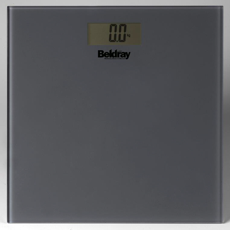 303699 beldray glass bathroom scales grey - Bathroom Scales