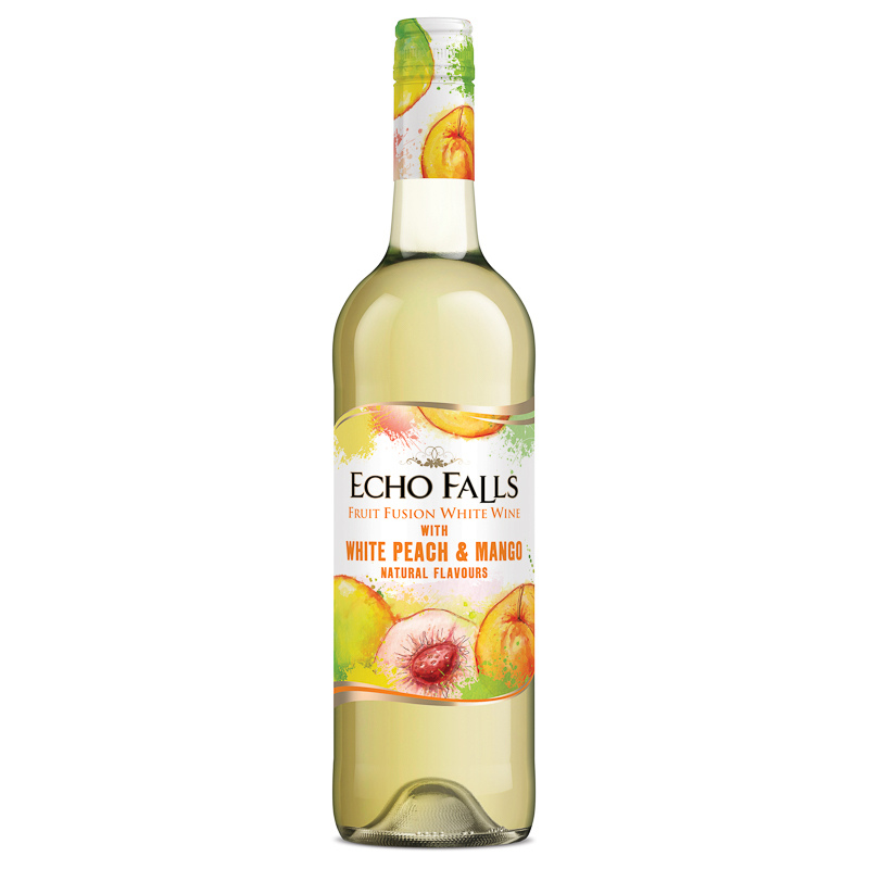 Echo Falls Fruit Fusion White Wine 75cl Alcohol Wine