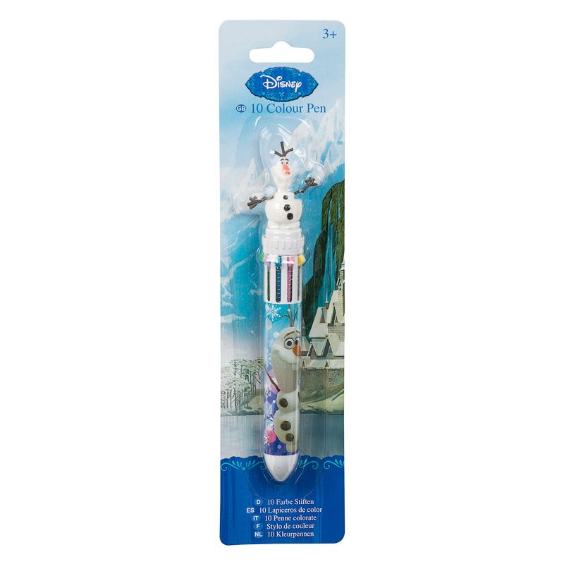Frozen Olaf 10 Colour Pen Pen Pencil Back To School