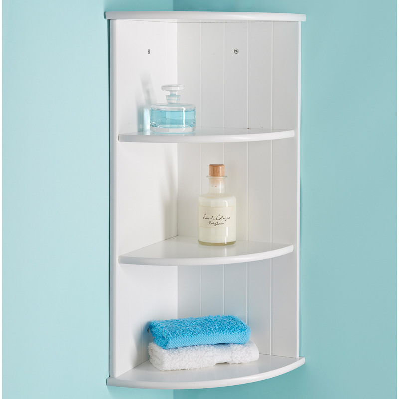 Maine Corner Shelf Unit Bathroom Furniture Bathroom