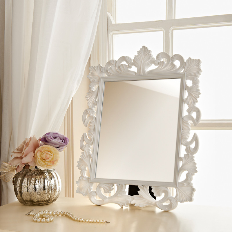 Ornate dressing table mirror ornate cheap mirrors for Cheap mirrors