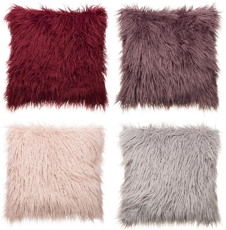 monica mongolian fur oversized cushion soft furnishings. Black Bedroom Furniture Sets. Home Design Ideas