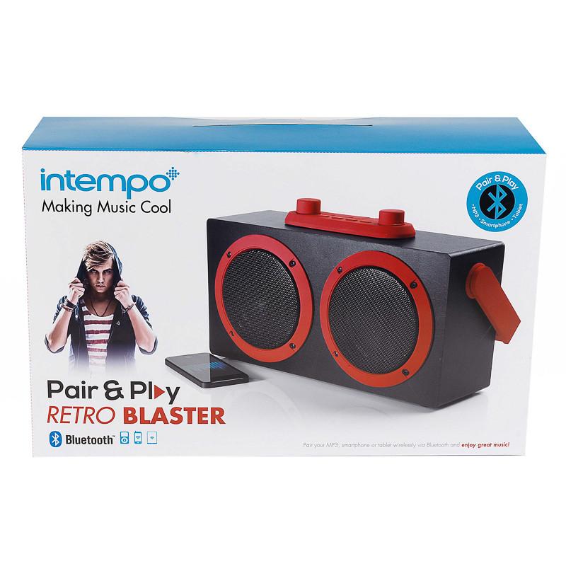 B&M: Intempo Bluetooth Pair & Play Retro Blaster