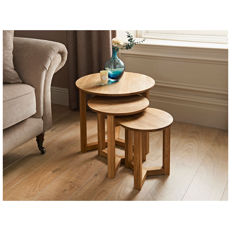 Tilbury nest of tables 3pc furniture living room b m for Coffee tables zara home